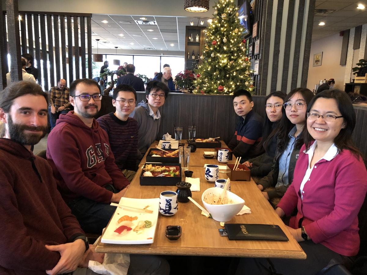 Group lunch 2018