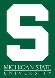 MSU wordmark and Block S