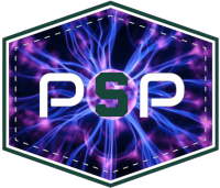 Plasma Sources and Processing Lab logo; S is the Spartan Block S